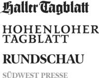 Logo von SÜDWEST PRESSE Hohenlohe GmbH & Co. KG