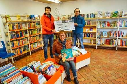 Übergabe von Alwico Hesterberg an die Kinder- und Jugendbibliothek Kreuzberg, Crailsheim